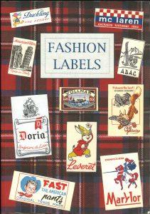 """本日のおすすめ古書""""Fashion Labels"""""""
