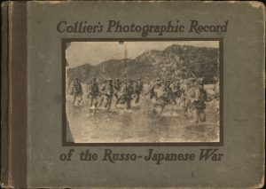 "本日のおすすめ古書""Collier's Photographic Record of the Russo-Japanese War""ほか1点"