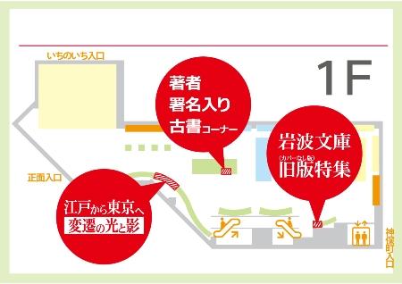 ('19/3/8更新) 神保町本店1階・2階 古本コーナーのご紹介